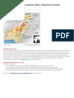 Wiki on Pakistan Floods - 2010