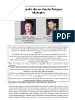 Presentation de Gestion Des Risque Bq Islamique