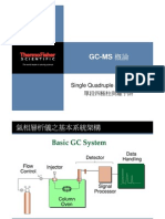 Introduction of GC-MS