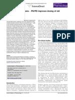 Revisiting Beta-lactams – PK/PD improves dosing of old antibiotics
