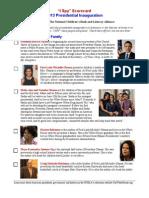 "Inaugural ""I SPY"" Scorecard for the 2013 Presidential Inauguration"