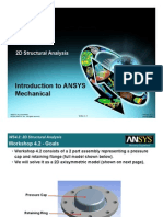Introduction to ANSYS Mechanical (2D)