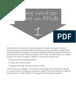 Usare Word per creare un EPUB