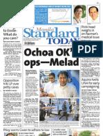 Manila Standard Today - Thursday (January 17, 2013) Issue