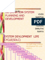 information system planning and development