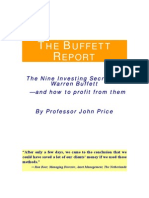 Warran Buffett - investing secrets