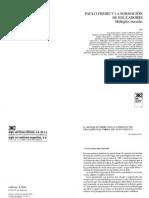 Paulo Freire y la formación de los educadores - AAVV