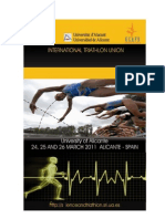 Proceedings I World Congress Science and Triathlon