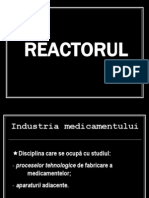 Reactorul chimic