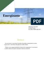 Studiu comparativ intre diferite marci de energizante din punct de vedere al substantelor chimice continute