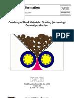 Crushing & Screening of Hard Materials