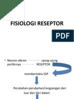 fisiologi reseptor