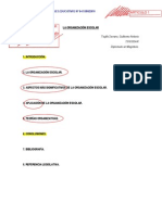Artículos de organización
