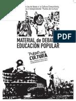Proyecto de Ley Apoyo Cultura Comunitaria, Autogestiva e Independiente