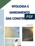 Patologia e Saneamento das construções