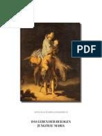 Das Leben der Heilige Jungfrau Maria-Anna Katharina Emmerich