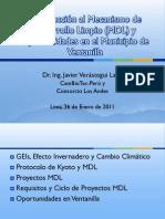 Javier Verastegui-Introducción MDL y Oportunidades en Ventanilla-Ene 2012