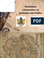 SOCIETATEA ROMANEASCA INTERBELICA