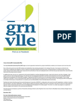 I Love Greenville Community Plan