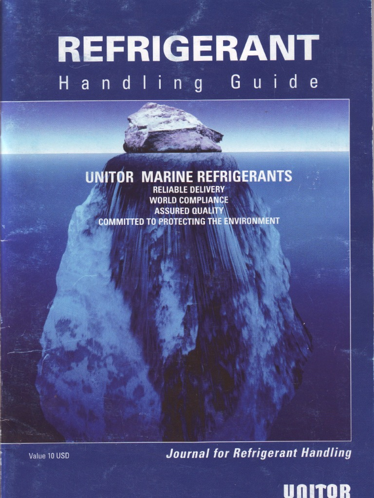 UNITOR MARINE REFRIGERANTS | Chlorofluorocarbon | Chemical