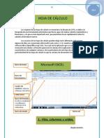 Excel hojas de calculo