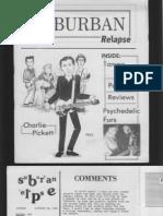 Suburban Relapse #2 (fanzine)