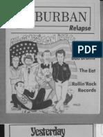 Suburban Relapse #3 (fanzine)