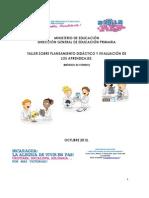 Módulo Planificación y Evaluación de los Aprendizajes de Educación Primaria