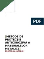 metode de protectie anticoroziva
