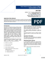 The Failure Mode and Effect Analysis Fmea Implementation for Csd An17582 12