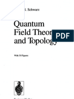 QFT and Topology - Schwarz