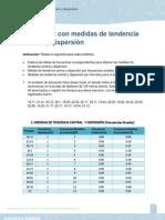 Actividad 7 Unidad 3 Medidas de tendencia central y dispersión. Estadistica Básica UNAD
