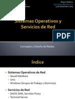 Sistemas Operativos y Servicios en Red