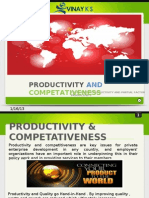 Productivity and Competativeness