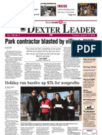 The Dexter Leader Front Page January 17, 2013