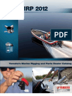 Yamaha Outboard Motors Rigging Guide 2012