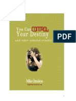 You can Control Your Destiny