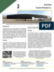 SolarWall Case Study - Cicame Energy Inc (solar air heating system)