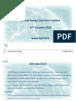 HHybrid Energy Presentation