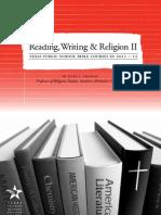 Reading, Writing & Religion II