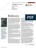 Rollovers