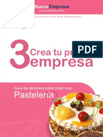 Guia para abrir pastelería