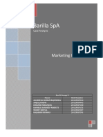 barilla case key assumptions and the Key assumptions in spite of the fact barilla spa case analysis barilla spa, an italian pasta manufacturer documents similar to barilla spa research.