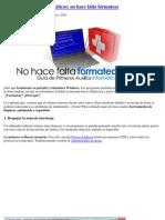 MINI MANUAL PRIMEROS AUXILIOS INFORMATICOS