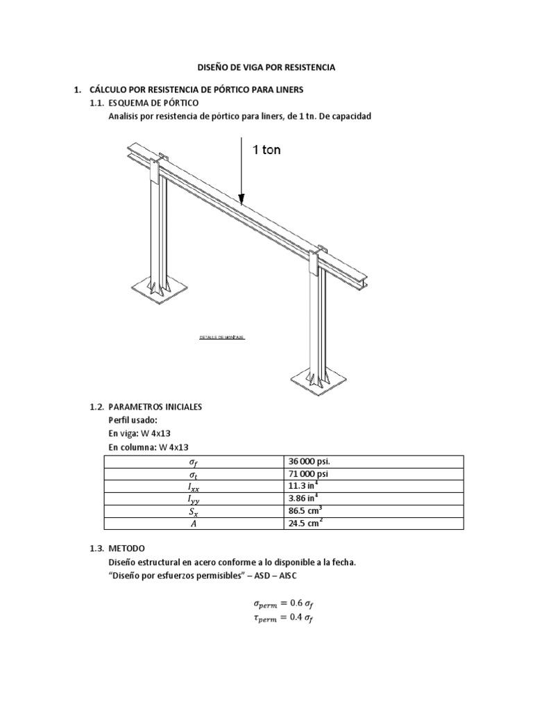 Dise o de viga por for Diseno estructural pdf