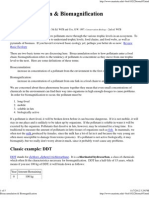 Bioaccumulation & Biomagnification