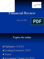 Financial Review 2013