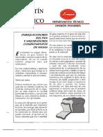 Levapan Boletin Tecnico 003 - Enriquecedores del Pan y Mejoradores Complementos de Masas