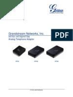 Grandstream ATA HT701 User Manual From Birchills Telecom
