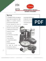 Levapan Boletin Tecnico 005 - El Azucar en Panaderia